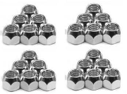 "1/2""  Wheel Nut 6-80 20 Peice Set"