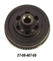 "D44 Hub Kit 10"" Brake with 6 on 5.5"" Bolt Pattern"