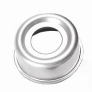 "Grease Cap EZ 21-42-1 Fits Dexter 12 x 2"" hub 6 bolt.  2.44"" OD, chrome."