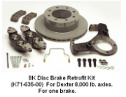 8K Disc Brake Kit Complete