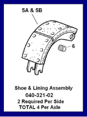 Shoe & Roller Assembly LH