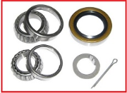 BEARING KIT FOR 84 SPINDLE 1.063 -1.375  DOUBLE LIP SEAL, 1 WHEEL