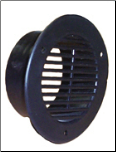 Air Vent Tube (used with the half-moon vent) - Black / AVT2
