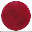 "4"" Round Beam Only - Red (SKU: 11-102-1)"