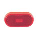 11-205-OP Clearance Light - Red Oval - Optronics