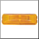 11-225 Clearance Light 2-BULB LEXAN  - Amber