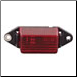 11-250-OP Mini Clearance Light - Red - Optronics