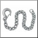 "Safety Chain 3/8"" X 36""W/HOOK/16K  SC3836G70 (SKU: 13-310)"