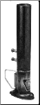 "20K Goose Coupler - Bulldog, 2 5/16""  Non-Adjustable Round Cou pler (20K) - 34"" Height"