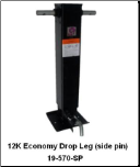 12K Economy Drop Leg (Side Pin)