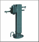 25k SAF Holland Drop Leg Jack  (2 spd) (SKU: 19-641)