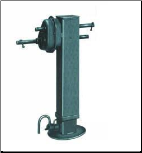 25k SAF Holland Drop Leg Jack  (2 spd)