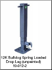 Bulldog, Drop Leg Jack Only, Spring Loaded (12K) 182800 (SKU: 19-912-2)