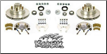 "2/HRCM-12KIT--- 12"" Disc Brake Set (For Use With 655 Hub) - 5,200-6,000 lbs., *  5-Bolt Brake Flange Required"