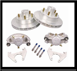 "2/HRCM-10-DAC-KIT -- 10"" Disc Brake Set (For Use With 545 Hub) - 3,500 lbs., * 4-Bolt Brake Flange Required (SKU: 2/HRCM-10-DAC-KIT-AU-646212962)"