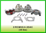 "3.5K 545 DISCRTR-HUB KIT 8"" KODIAK DACR 1AXLE (SKU: 2/RCMHS-8-3-DAC-KIT-AU)"