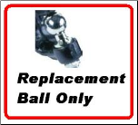 "2 5/16"" REPLACEMENT BALL. BALL FOR WALLACE FORGE  DPH/DPR SERIES  10K"