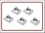 Rim Clamp 15-12 (Plated )  5 PC Set (SKU: 27-024-1)