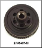 "D44 Hub Kit 10"" Brake with 6 on 5.5"" Bolt Pattern (SKU: 27-08-407-05)"