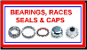 Bearings, Seals, Races, Grease Caps