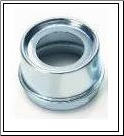 "Grease Cap EZ 21-41-1Fits Dexter 7"", 10 x 1-1/2"" and 10 x 2-1/4"" Hub.  1.99"" OD, Plated. (SKU: 27-370-2)"