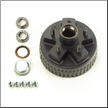 "2K Hub - 5-4.5"" Elec. Brake ONLY (1/2"" stud)   Drum 8-257-5   / HYD  8-271-7UC3"