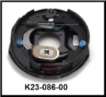 "Complete 10"" x 2-1/4"" electric brake with park assembly for a D35 (3500#) axle. Left Hand (SKU: K23-086-00)"
