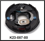 "Complete 10"" x 2-1/4"" electric brake with park assembly.  Right Hand. (SKU: K23-087-00)"