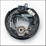"Complete 10"" x 2-1/4"" electric brake with park assembly. LEFT  Hand (SKU: 023-086-00)"