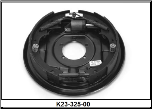 "Complete 12"" x 2"" hydraulic 5200# uni-servo brake assembly.  Right Hand. (SKU: K23-325-00)"
