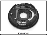 "Complete 12"" x 2"" hydraulic 7000# free backing with park brake assembly.  Left Hand. (SKU: K23-340-00)"