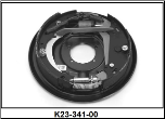 "Complete 12"" x 2"" hydraulic 7000# free backing with park brake assembly.  Right Hand. (SKU: K23-341-00)"