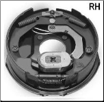 "Complete 10"" x 2-1/4"" RH Electric Brake Assembly (High Performance) SPECIAL (SKU: 27-23-455-00)"