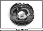 "Complete 10"" x 2-1/4"" electric brake assembly for a D44 (4400#) axle. Right Hand (SKU: K23-463-00)"