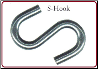"CHAIN, S-HOOK 5K 7/16"" FOR 1/4"" CHAIN (SKU: 4480)"