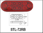 Oblong LED Light STL-72RB