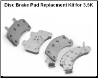 3.5K Disc Brake Pad Replacment Kit (K71-623) (SKU: 27-414-3)