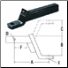 "4"" Hitch Bar - Solid HI/LO 4"" DP SOLID BAR 30013 10,000 LB (SKU: 28-107-S)"