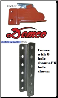 "DEMCO EXZ LATCH  ADJ CPLR 2 5/16"" 20K DEMCO EZ-LATCH LEVERLOCK /  CHANNEL 8-HOLE, 20K FOR ADJ CPLRS (3/8"")"
