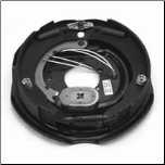"12"" x 2""---Dexter RH ELEC Complete Brake Assembly 4.5K, 5.2K, 6K (23-106) Free Delivery...Lower 48 States (SKU: 27-443-ALB)"